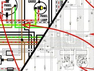 wiring vw bus outpost 1950 1953 volkswagen van kombi microbus 11″ x 17″ color wiring diagrams