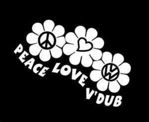 """Cool Peace Sign Hand Car Laptop Decal Sticker 6/"""" HIPPIE ON BOARD. Vinyl Decal."""